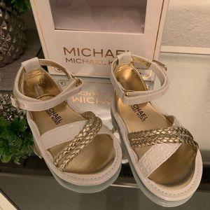 Size 4 MK Michael Kors BABYMILLIE sandals